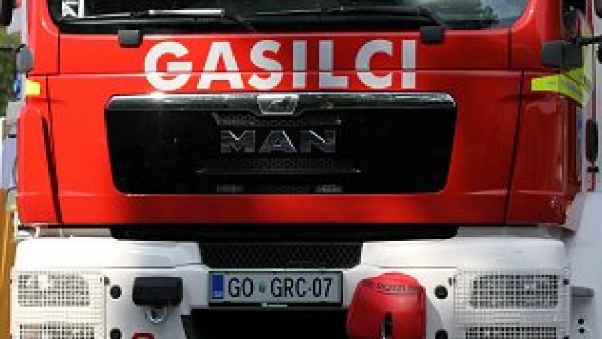 Zagorel tovornjak na hitri cesti Selo-Ajdovščina!