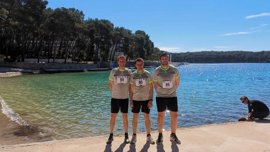 Mednarodno tekmovanje poklicnih gasilcev v teku na 8 kilometrov na Malem Lošinju!