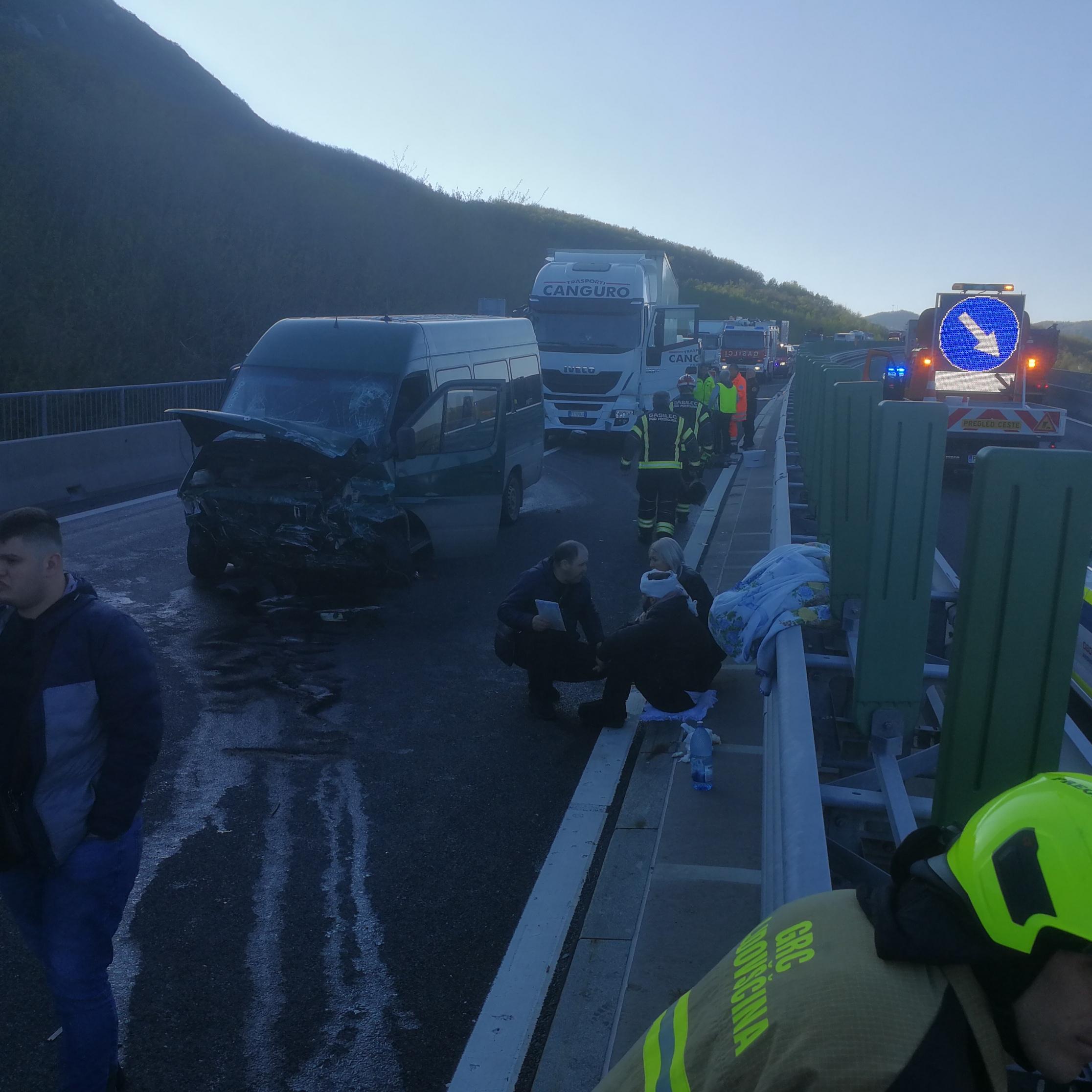 Prometna nesreča v Rebernicah!