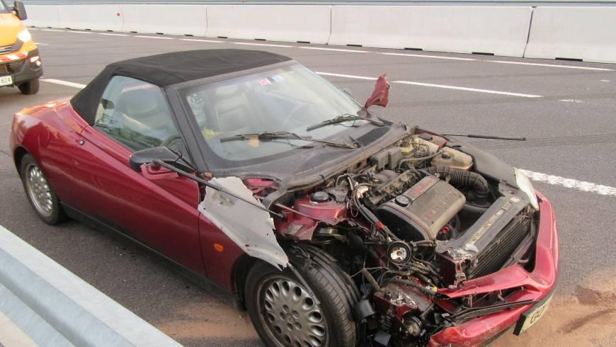 Prometna nesreča na hitri cesti, izvoz Selo!