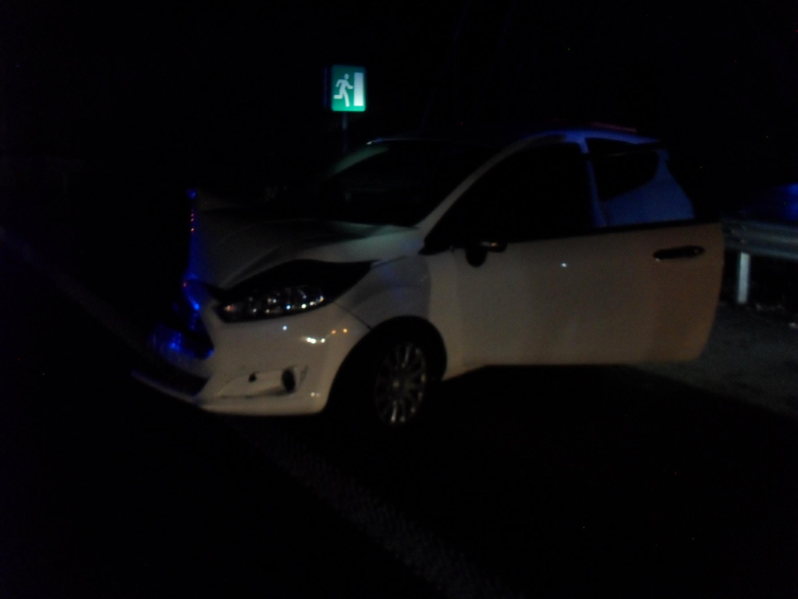 Prometna nesreča na hitri cesti Ajdovščina-Selo!