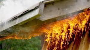 Zagorela garaža!