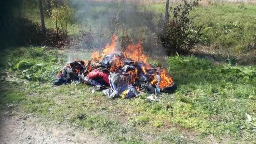 Zagoreli odpadki pri Lokavcu!