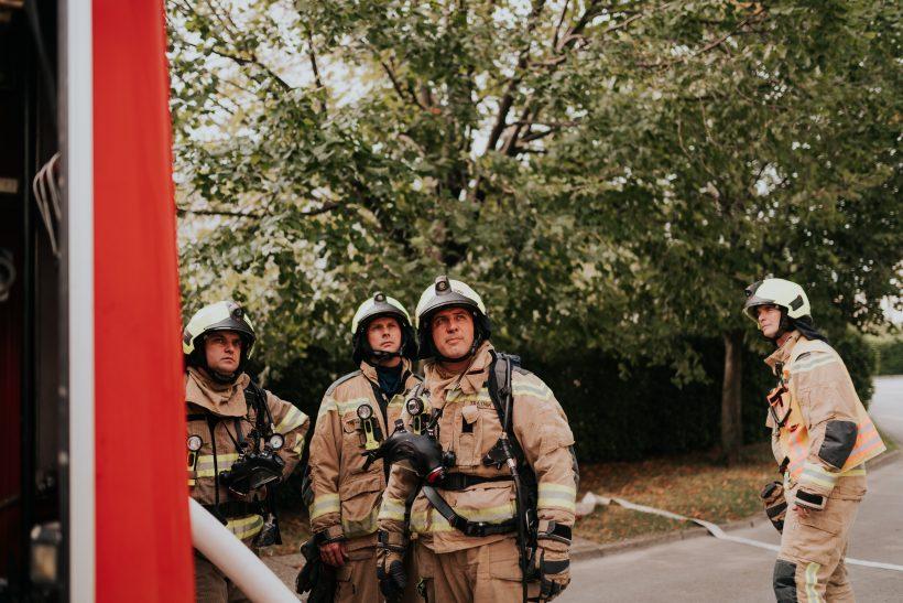 Prosto delovno mesto gasilec