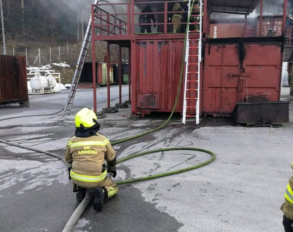 Usposabljanje za pridobitev poklica gasilec