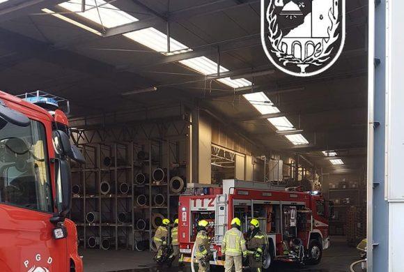 Požar v industrijskem objektu