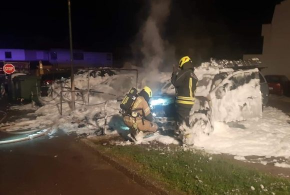 Požar osebnih vozil